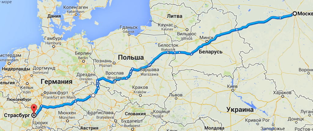 Moscow-Strassburg